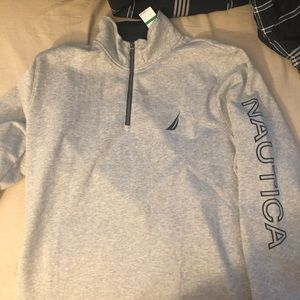 Nautica embroidered sweater